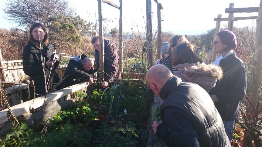 Fire and Feast at the Community Allotment. December2016